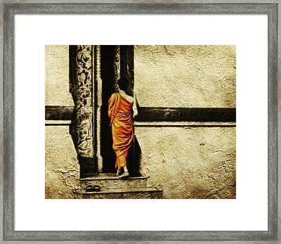 Time For Prayer Framed Print