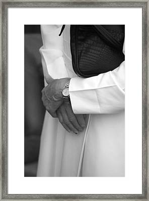 Time For Prayer Framed Print by Jez C Self