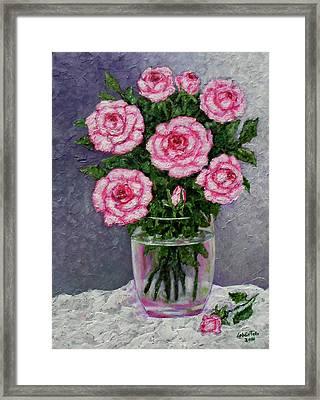Time For Roses Framed Print