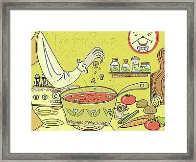 Time For Soup Framed Print