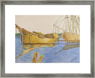 Time Forgotten Framed Print by Ron Sargent
