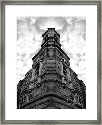 Time Four Framed Print
