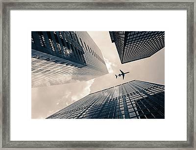 Time Frame Framed Print