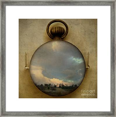 Time Free Framed Print by Martine Roch