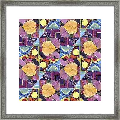 Time Goes By 2 - The Joy Of Design Series Arrangement Framed Print by Helena Tiainen