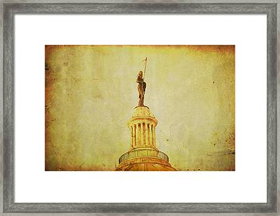 Time Honored Framed Print by Toni Hopper