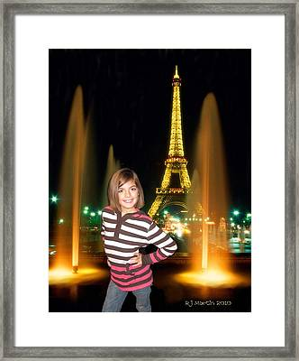 Time In Paris Framed Print