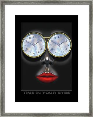 Time In Your Eyes Framed Print