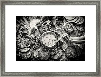 Time Is Money Framed Print by Nichon Thorstrom