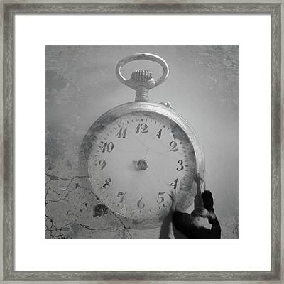Time Is On My Side Framed Print