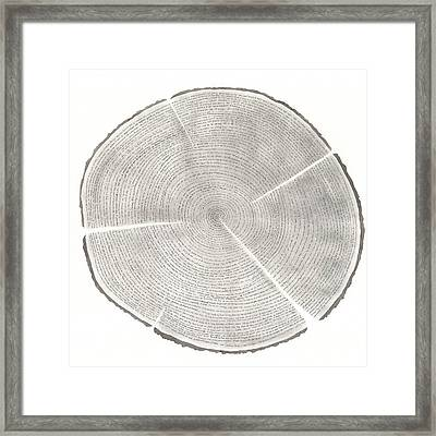 Time Lines-collective Art Work Framed Print