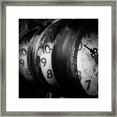 Time Multiplies Framed Print