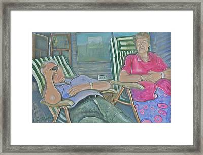 Time Out Framed Print by Duncan James