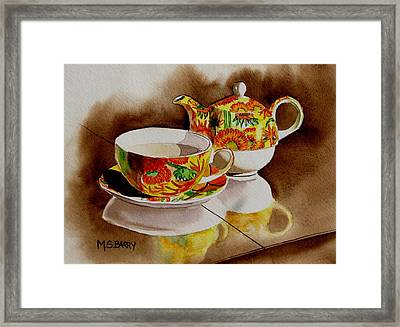 Time Out Framed Print by Maria Barry