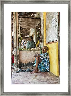 Framed Print featuring the photograph Kumarakom by Marion Galt