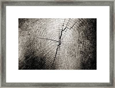 Time Passage Framed Print