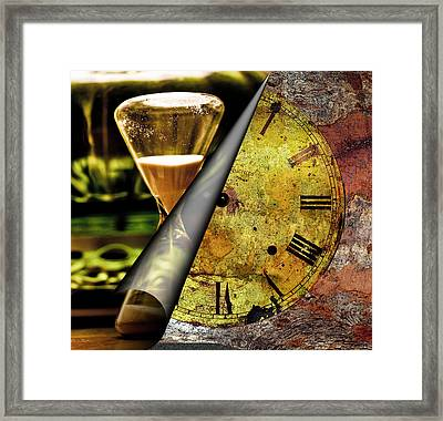 Time Pieces - Clocks With No Hands Framed Print by Marie Jamieson