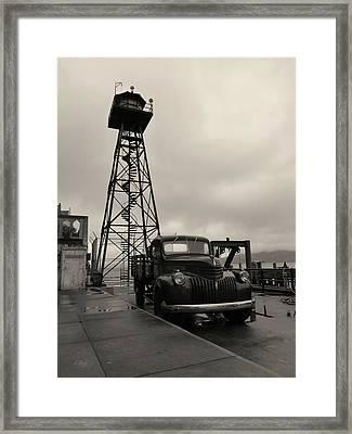Time Served Framed Print by Gordon Beck