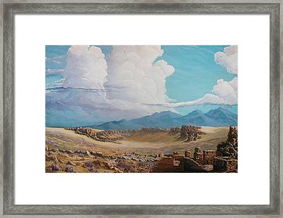 Time Stands Still Framed Print by John Wise