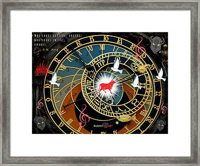 Time Stops Framed Print