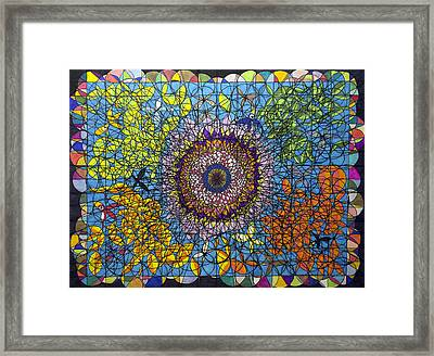 Time Symmetry  Framed Print by William Douglas