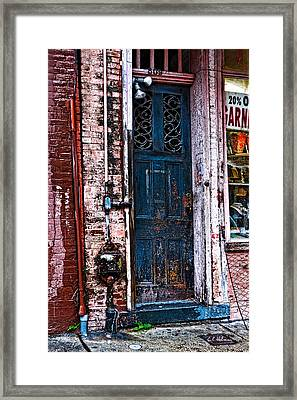 Time Tested Framed Print by Christopher Holmes