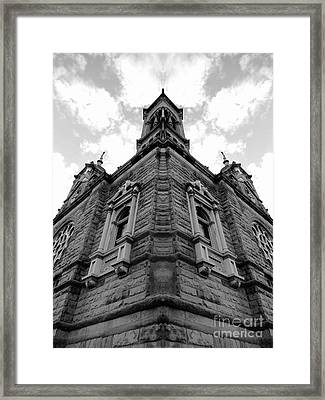 Time Three Framed Print