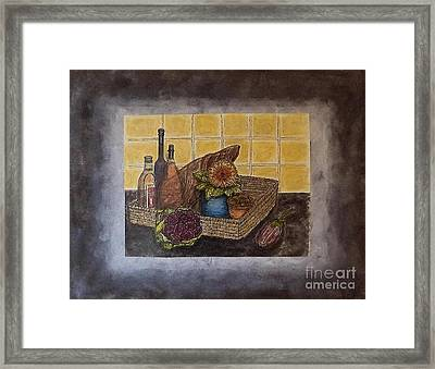 Time To Cook Framed Print