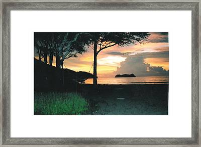 Time To Dream Framed Print by Robert  Collier