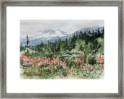 Time To Go Home Framed Print by Monte Toon