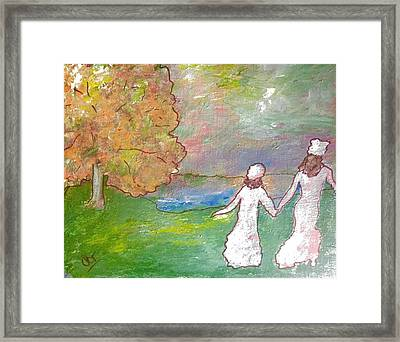Time To Go Framed Print by Patricia Taylor