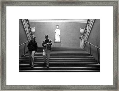 Time To Leave Framed Print by Jez C Self