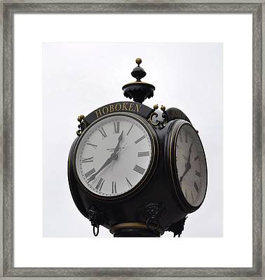 Time To Remember Framed Print