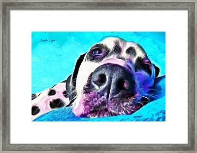 Time To Rest - Pa Framed Print