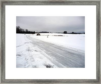 Framed Print featuring the photograph Time To Slow Down by Joel Deutsch