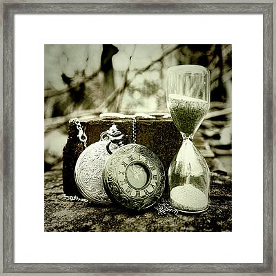 Time Tools Framed Print