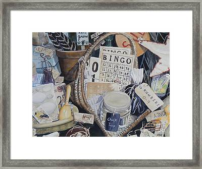 Time Travel   Original Framed Print