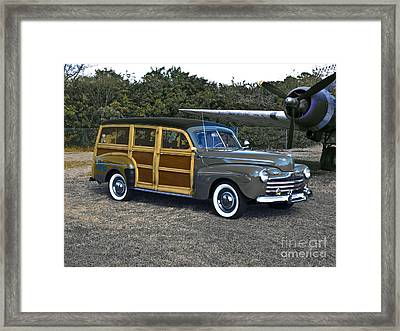 Time Travel 1946 Framed Print by Steven  Digman