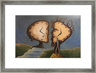 Time Travel 2016 Framed Print