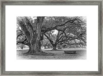 Time Travel - Vignette Framed Print