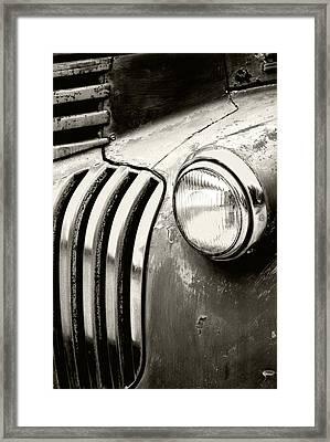 Time Traveler Framed Print