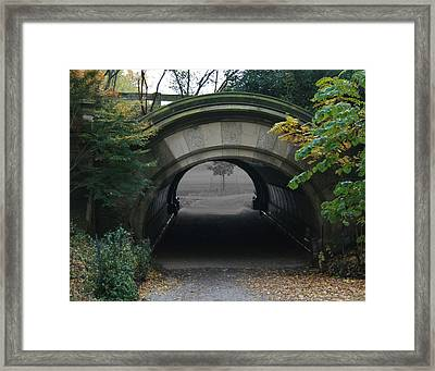 Time Tunnel Framed Print by Bill Ades