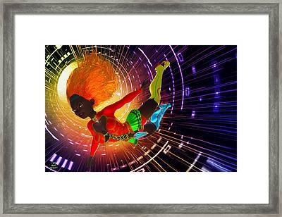Time Tunnel Traveler Framed Print by Grant Prescott