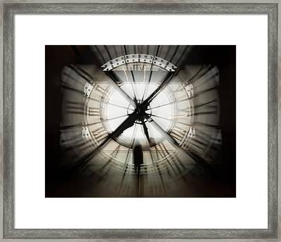 Time Waits For None Framed Print