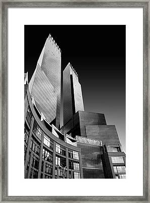 Time-warner Center Framed Print
