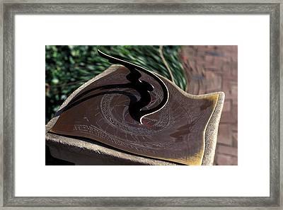 Time Warp Framed Print by Carl Purcell