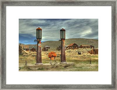 Time Warp In Bodie Framed Print by Benanne Stiens