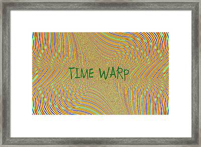 Time Warp Framed Print by Thomas Smith