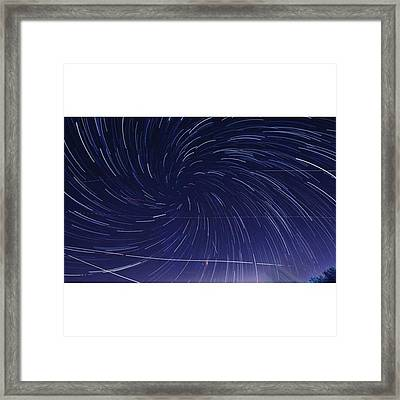 Time Warp! Where Do The Weekends Framed Print