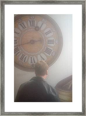 Time Watching Framed Print by Jez C Self